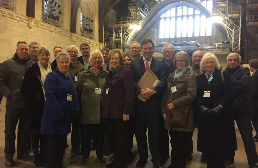 The Commons resumed this week and it was a pleasure to welcome Horsham Rotary who came for a tour of Parliament on Monday.