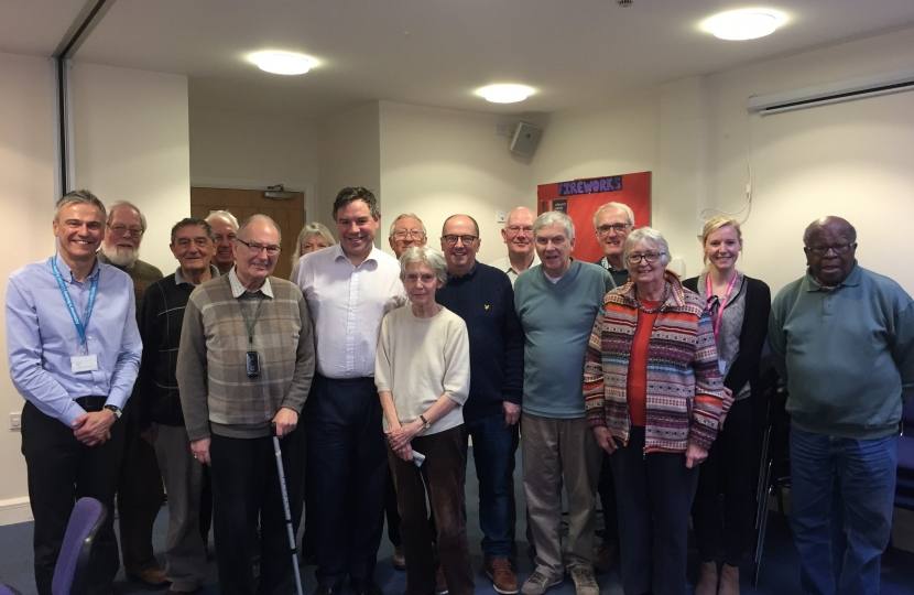 "Meeting with the ""Rusty Brains"" last week in the Baptist Church in Brighton Road. The Group devises a wide range of meetings and activities and welcomes those living with dementia."