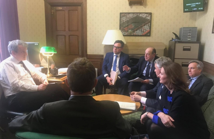 West Sussex MPs meet with Education Secretary Damian Hinds