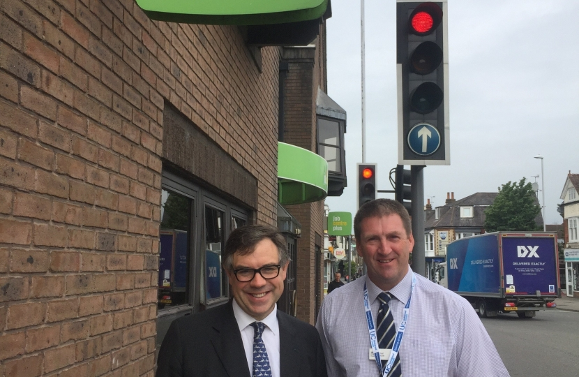 Visiting Horsham's Job Centre Plus last week to hear about Horsham's roll-out of Universal Credit
