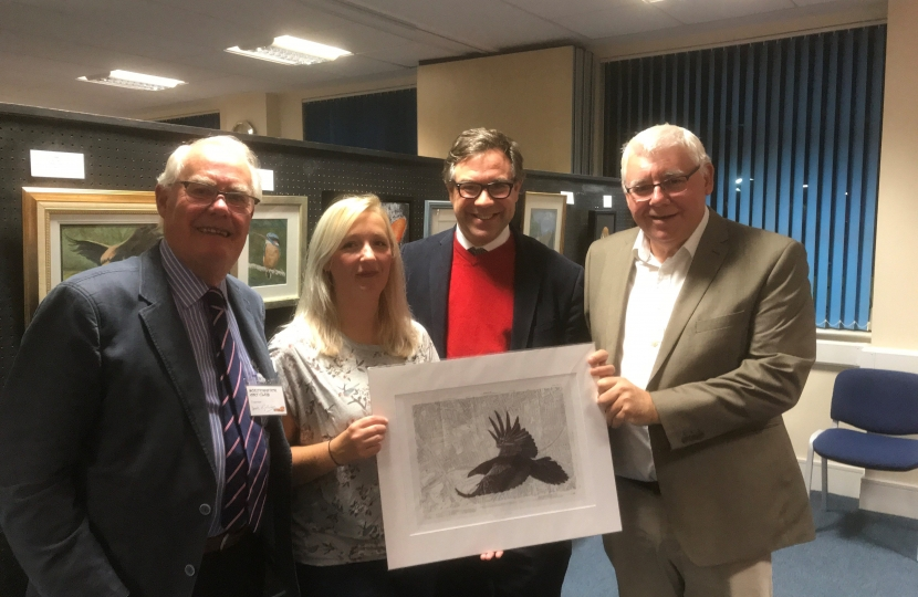 The Southwater Art Group held their annual exhibition in Lintot Square over the weekend.  The Group is clearly thriving and it was a pleasure to look round.