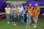 Meeting stewards and volunteers supporting the Horsham Riverside Walk – which again saw an increase in numbers, many coming from far afield.  Congratulations to 1st Roffey Beavers for completing the first stretch!